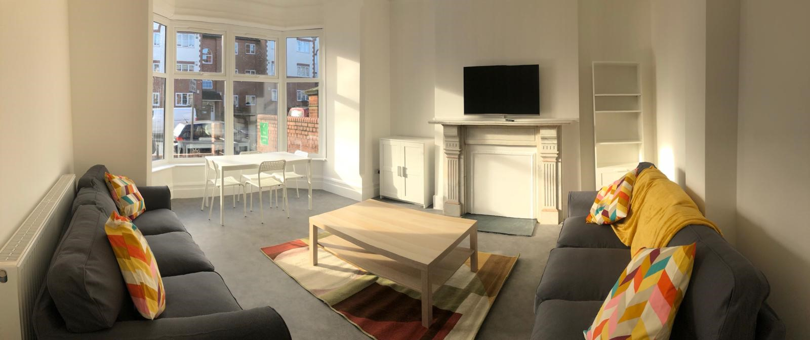 Park Lodge Project - Hinckley Road Hub - Resident Front Lounge