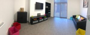 Park Lodge Project - Hinckley Road Hub - Residents Back Lounge - Games Room